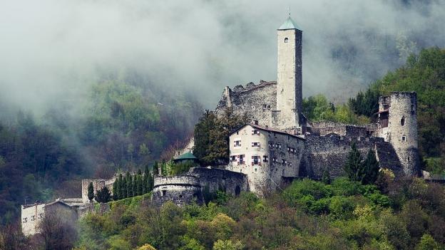 Borgo Valsugana: the Castel Telvana
