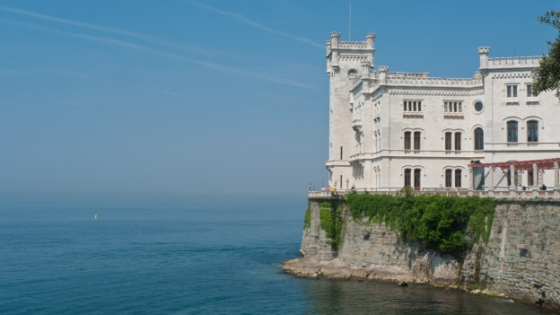 Castello Miramare near Trieste (Friuli-Venezia-Giulia)