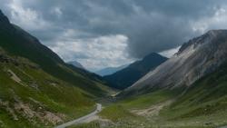 Road to the Forcola di Livigno