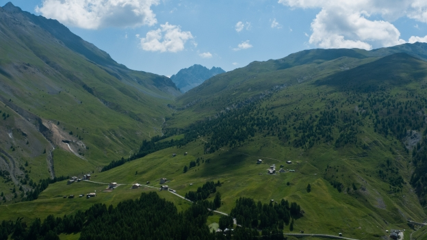 Little Tibet - on the road to the Passo di Foscagno between Livigno and Bormio (Lombardia)