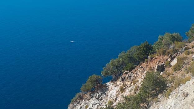 Elba coastline between Marciana and Chiessi