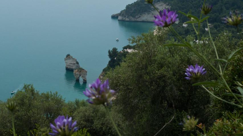Puglia Gargano peninsula