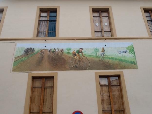 Mural near Siena