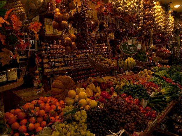 The mercato in Firenze