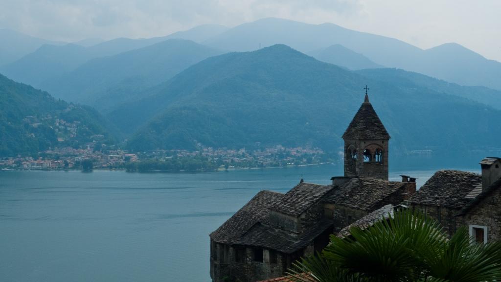 view of the Lago Maggiore