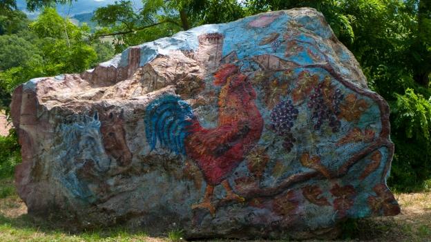 Chianti - roadside side art