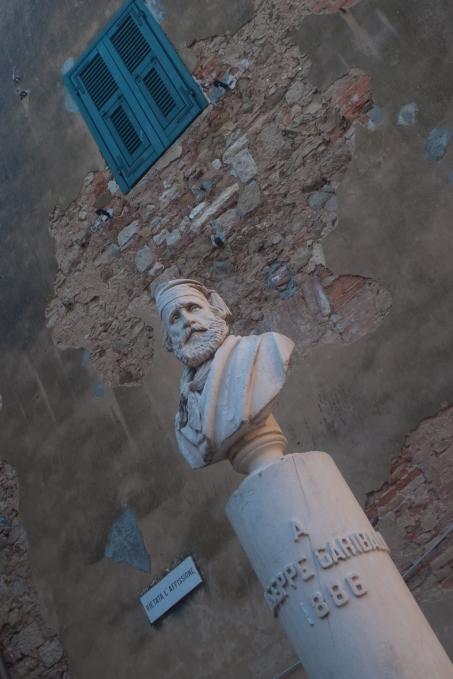 Bust of Garibaldi (Campiglia Marittima - Toscana)