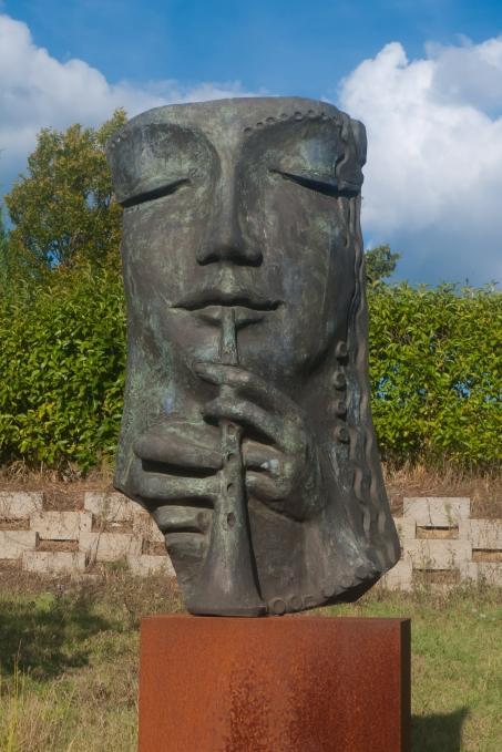 Sculpture Park near Monticiano (Toscana)