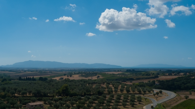 Magliano in Toscana - view from the city walls