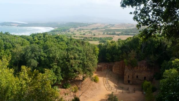 Necropoli delle Cave (Baratti near Populonia, Toscana)