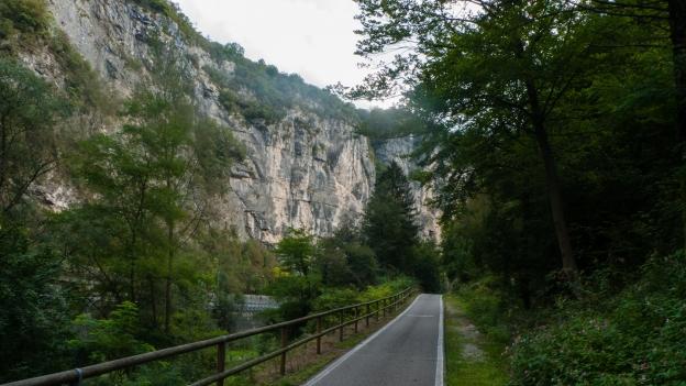 Ciclabile Valsugana part of the Via Claudia Augusta