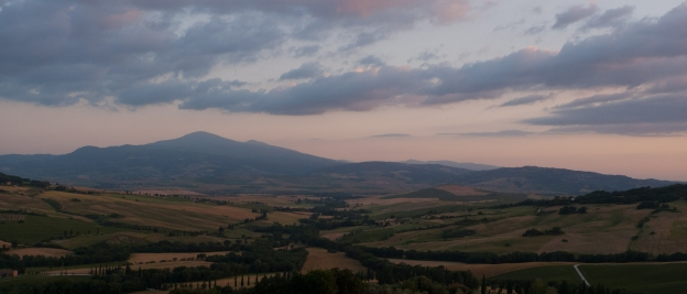 The Val d'Orcia and Monte Amiata