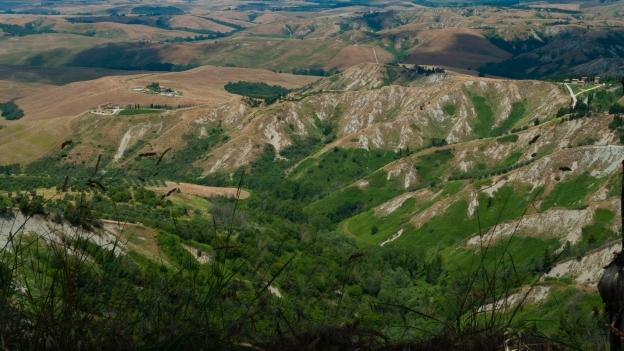Le Balze near Volterra