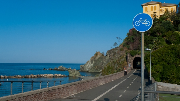 Framura-Levanto cycleway (Liguria)