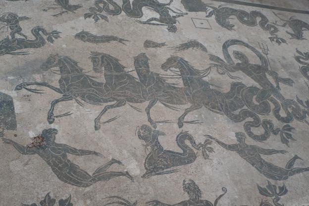 Ostia Antica - mosaic of Neptune (Nettuno)