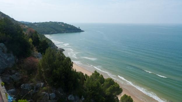 Southern Lazio coast
