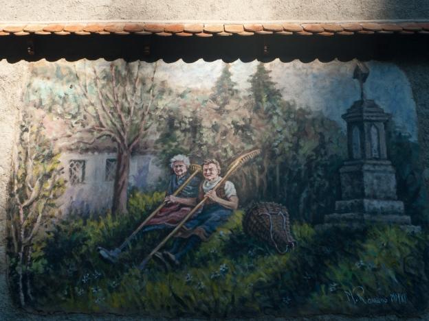 Mural - Val Pesarina