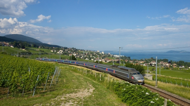 TGV-Lyria train Photo: David Gubler.