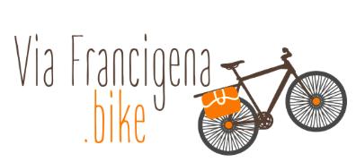 Logo for the viafrancigena.bike