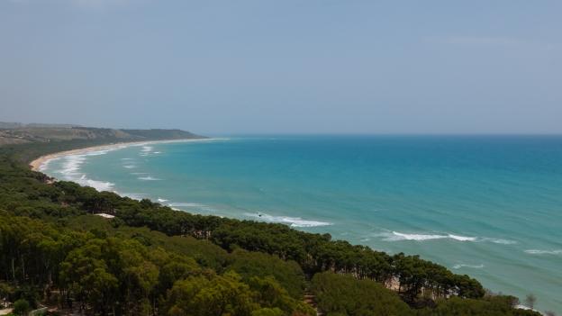 Sicilia coast near Eraclea Minoa