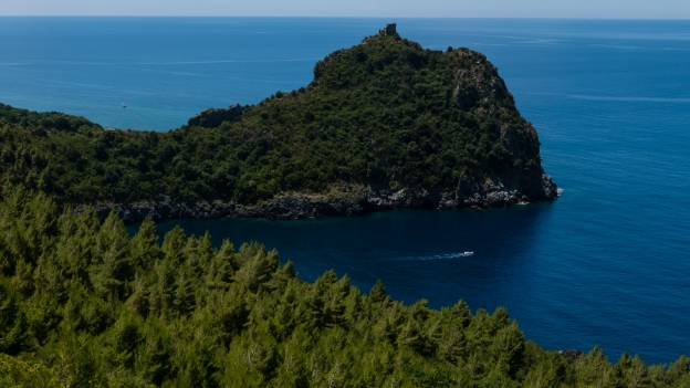 Watchtower on the Basilicata coast