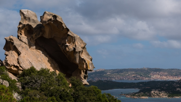 View from the Capo d'Orso towards La Maddalena
