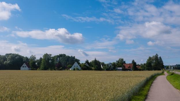The Via Claudia near Nordendorf