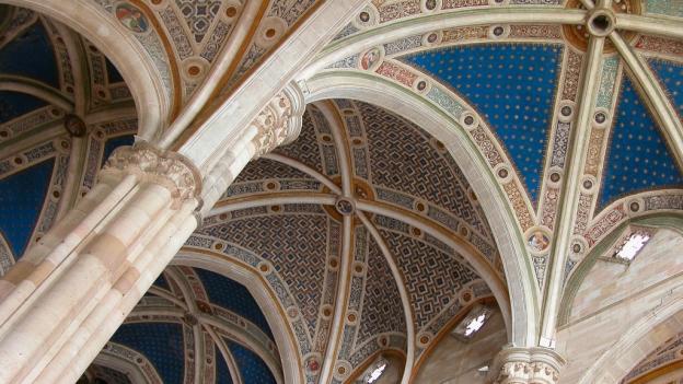 Ceiling of the Certosa di Pavia