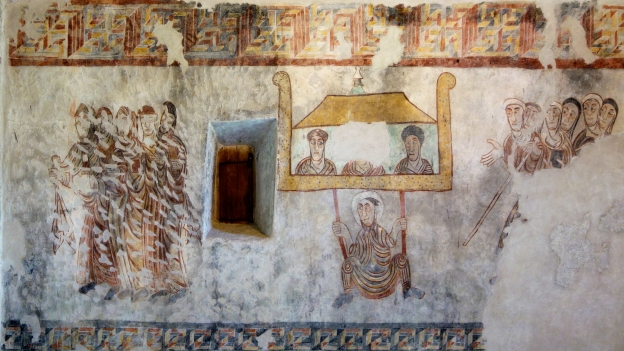 Frescoes from the Sankt Prokulus church in Naturns