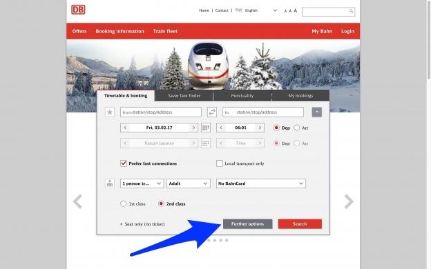 bahn.com: home page