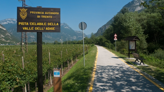 Valle dell'Adige cycleway